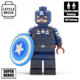 Captain America Chrome Shield  MW096