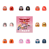Daruma set of 8 pcs