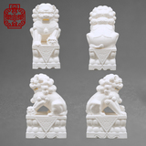 Stone lions (White)Female LYLST154