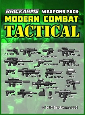 Brickarms Modern Combat Pack - Tactical Pack  WQB30