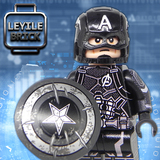Captain America Black uniform  LYLMV334+570