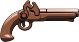 Brown Brickarms Flintlock Pistol   BA68A