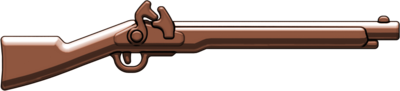 Brown Brickarms Flintlock Musket  BA081